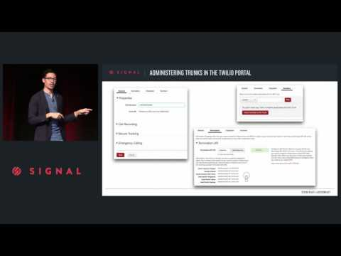 VOICE & MESSAGING TRACK | Enterprise SIP Trunking - Steven Platt (Twitter)