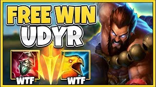 WTF RIOT!? ARDENT CENSOR MAKES UDYR LITERALLY GOD-MODE! (NO COUNTER) - League of Legends