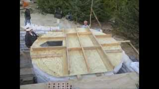 Earthbag Rainwater Cistern Video