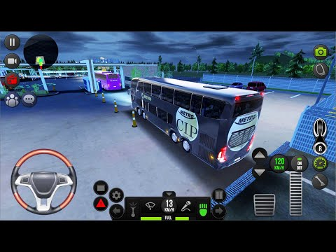 Bus Simulator : Ultimate #1 - New York To Las Vegas Multiplayer Night Driving Android IOS Gameplay