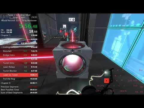 Portal 2 Speedrun