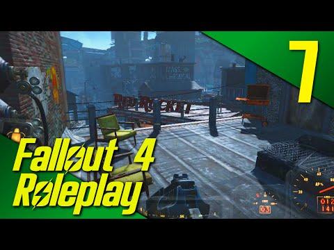 SECRET HIDEOUT! - Fallout 4: Life Of A Merchant Roleplay Part 7 (PC | Mods)