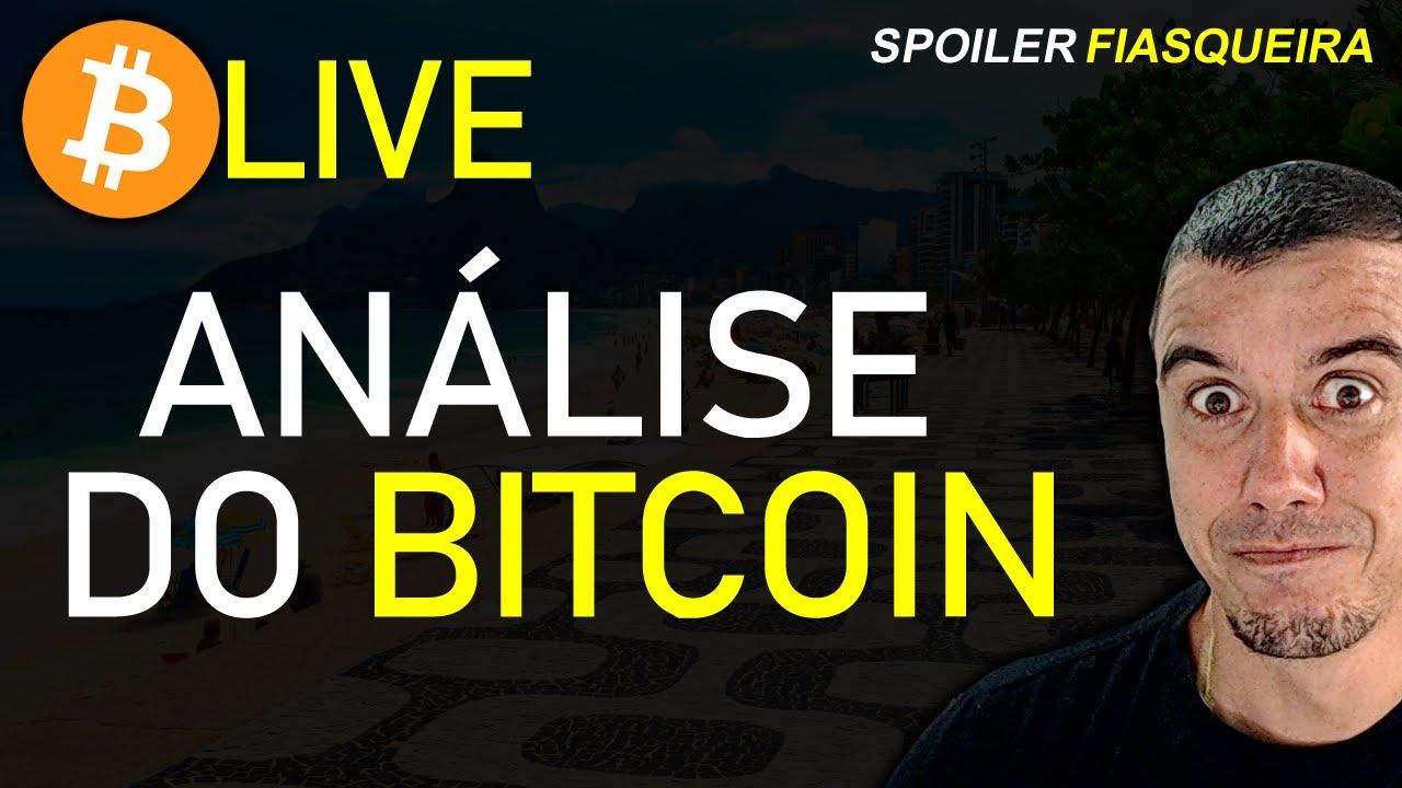 Live Análise do Bitcoin