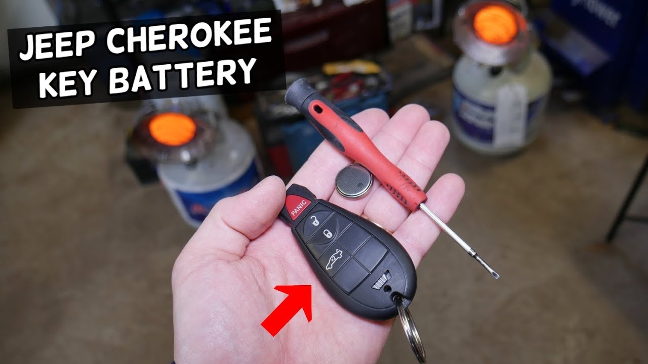 Jeep Cherokee Key Fob Battery Replacement Key Not Working Not