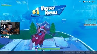 joined a scrim on accident (i won...) (Fortnite)
