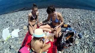 Новороссийск#30.04.17#На пляж#Солнечные ванны#Суджукская коса#Малая земля.