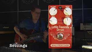 Mad Professor Little Tweedy Drive demo by Teemu Viinikainen