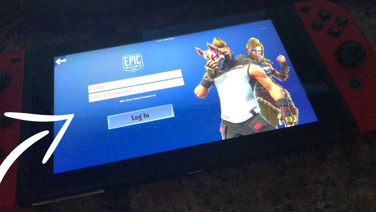 """HOW TO LOGOUT ON FORTNITE NINTENDO SWITCH"" - CONNECT ..."