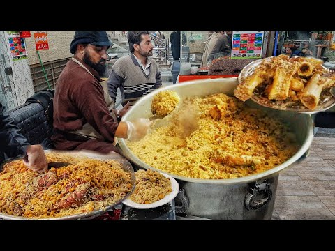 Malang Jan Bannu Beef Pulao Gt Road Tarnol Malang Jan Kabuli Bannu Pulao Street Food Pakistan Youtube