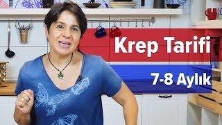 Bebekler için Krep Tarifi - Kabaklı | Yaz Kahvaltısı Tarifi #3 (8 Ay +)