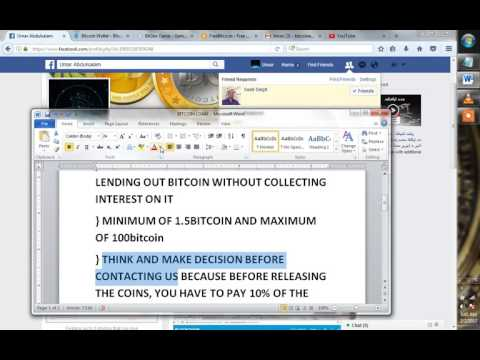 Get bitcoin loan min1.5btc and max100btc within 45 minutes with your ID card!!!!!!!