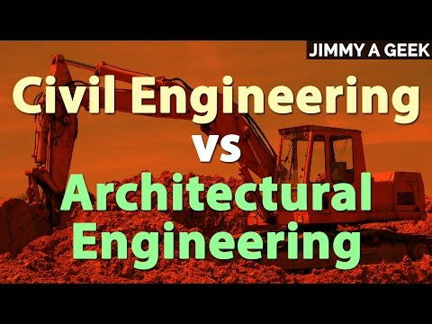 📐Civil Engineering vs 🏛️Architectural Engineering | Degree Guide 📌
