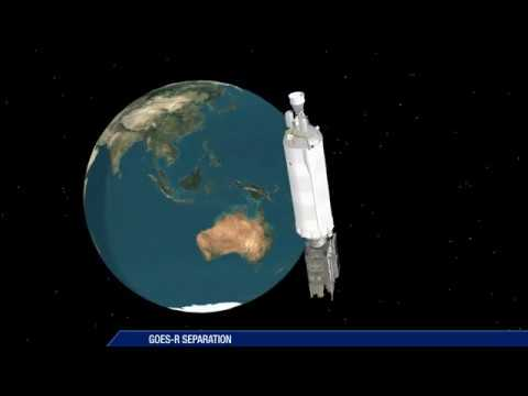 Atlas V GOES-R Mission Profile