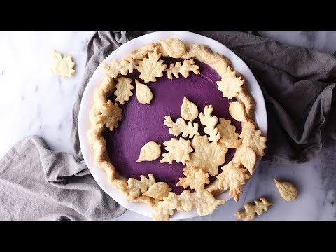 Vegan Purple Sweet Potato Pie