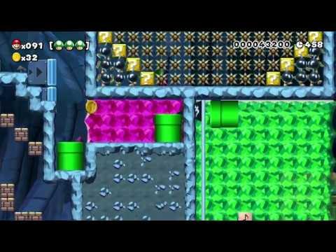 Super Mario Maker 100 Mario Challenge Super Expert No Skips 88