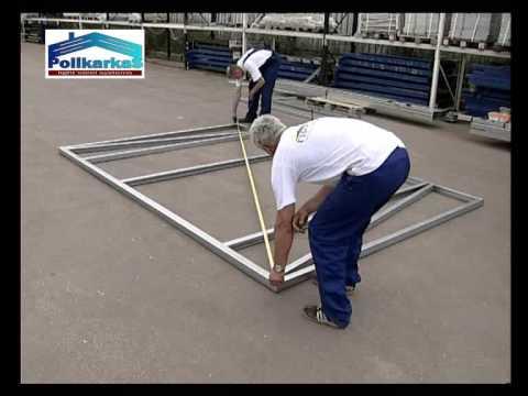 видео: Видеоинструкция по сборке хозблока