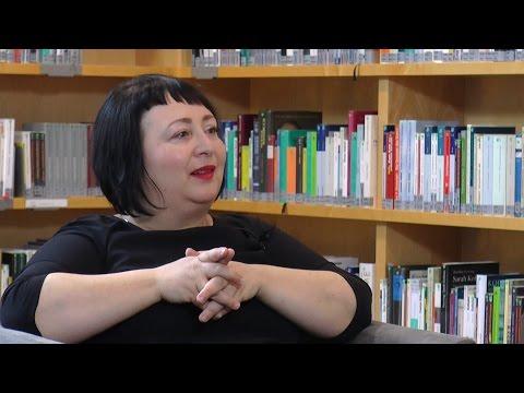 Julya Rabinowich im Gespräch