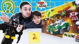 Папа Роб и Ярик продолжают собирать #Lego The Batмan Movie! Часть 2