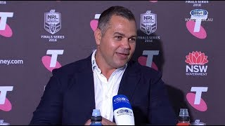 NRL Press Conference: South Sydney Rabbitohs - Finals Week 2
