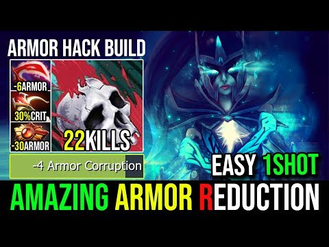 Full Armor Reduction Desolator+Solar Crest [Phantom Assassin] ARMOR HACK By Bulldog 22Kills - DotA 2
