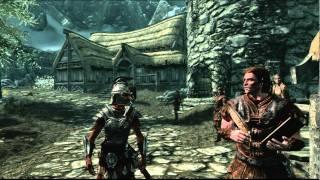 The Elder Scrolls V Skyrim прохождение часть 1(xbox360)