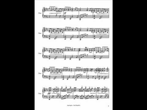 Sheet music - Apologize - piano cover by 0AdRiaNleE0 (Adrian Lee)