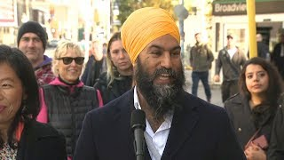 Jagmeet Singh on the campaign trail | Day 35