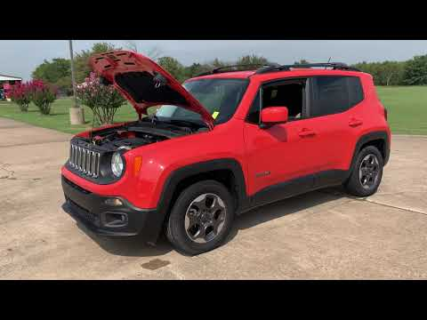 2015 ORANGE Jeep Renegade Latitude FWD (ZACCJABH9FP) with an 1.4L L4 DOHC 16V TURBO engine, 6M transmission, located at 17760 Hwy 62, Morris, OK, 74445, (918) 733-4887, 35.609104, -95.877060 - Photo #0
