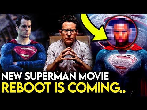 A NEW Superman Movie is Coming & It's NOT With Henry Cavill..