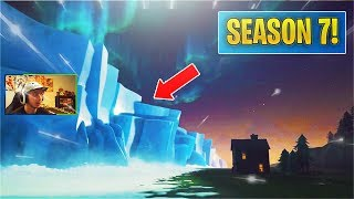 *NEW* The Iceberg FROZE The Map! Season 7 Battle Pass Trailer! (Fortnite)