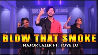 Major Lazer - Blow That Smoke Dance Video (Feat. Tove Lo) Vicky Patel Choreography