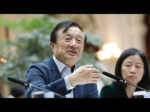 The Point: Can Huawei founder's remarks spark U.S.-China 5G competition?