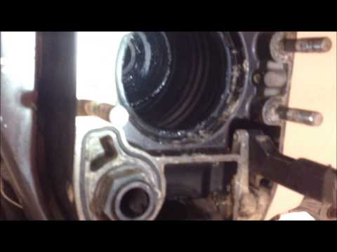 how to change gear oil on omc outdrive