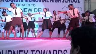 Barasat Indira Gandhi Memorial High School (Annual Function) - Awaaz Do Apne Dil Ko