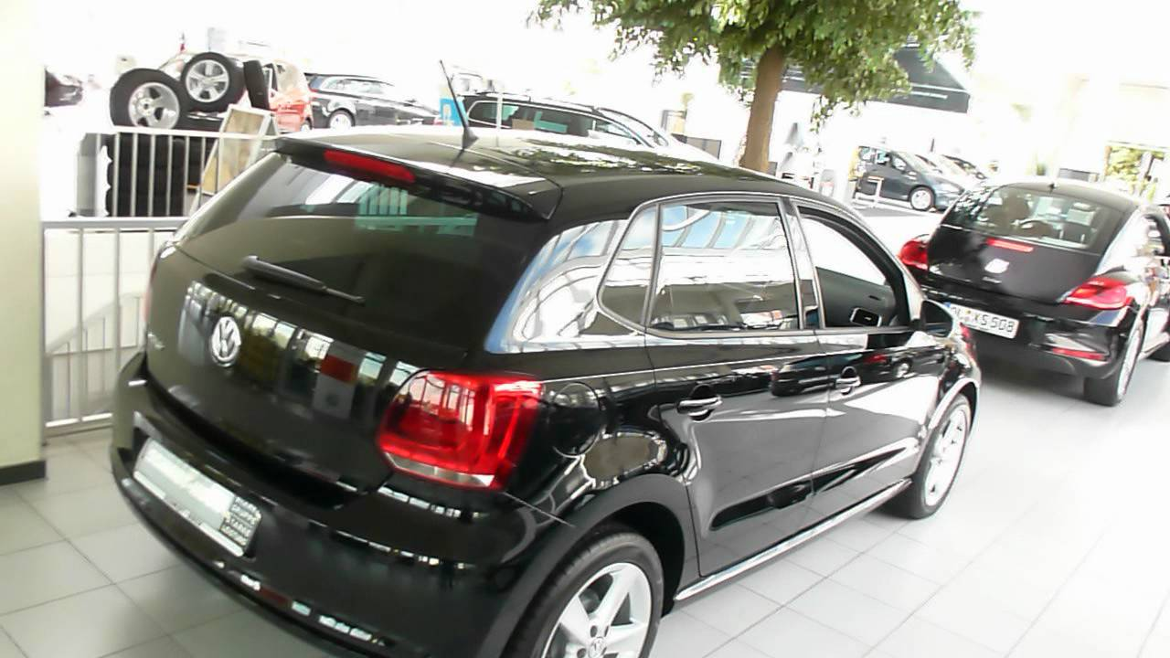 vw polo black edition 1 4 85 hp 157 km h 97 mph 2012 see also playlist youtube. Black Bedroom Furniture Sets. Home Design Ideas