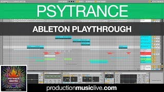 Psytrance Mantra - Ableton Playthrough - Vini Vici Style
