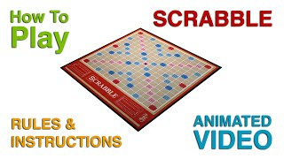 Scrabble Board Game Rules & Instructions | How To Play Scrabble | Learn Scrabble Game