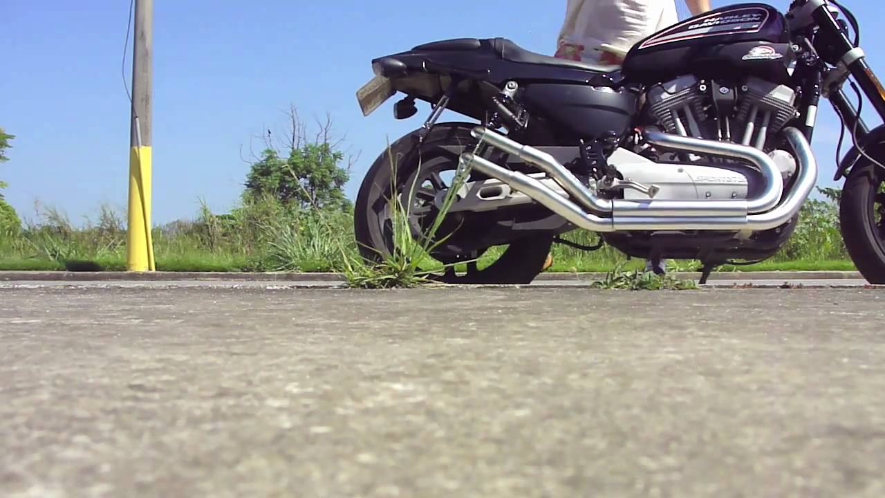 XR1200 Exhaust True Harley Sound Straight Pipes (check the
