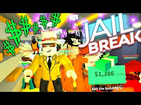 MASSIVE SQUAD ROBBERY (Roblox Jailbreak)