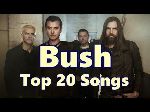 Top 10 Bush Songs (20 Songs) Greatest Hits (Gavin Rossdale)