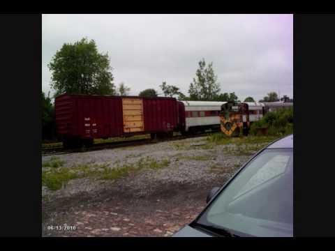 Medina NY Railroad Museum 6/13/10