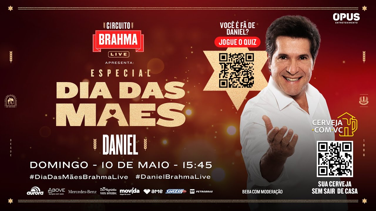 LiveDoDaniel | #FicaemCasa Cante #Comigo - YouTube