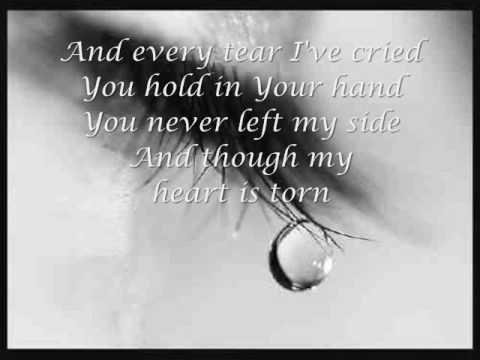 Praise you in this storm (Lyrics) Casting Crowns ♪