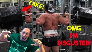 BRAD CASTLEBERRY Has Been Using FAKE WEIGHTS for 9 Years! | DISGUSTING!