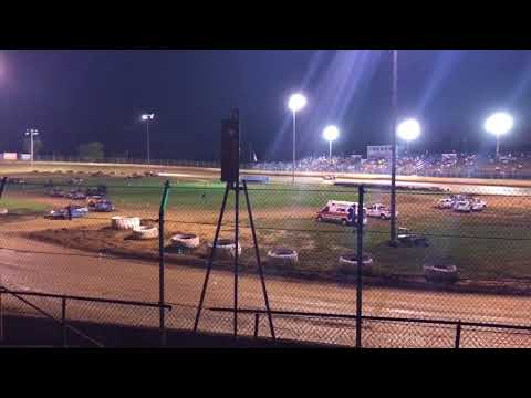 Florence Speedway Pure Stock Heat 1 9/16/17