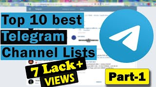 10 Best Telegram Channel list for everyone in 2019