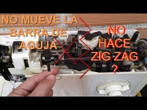 Mi maquina de coser no hace zig zag ( SOLUCCION