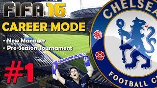 "FIFA 16 Chelsea F.C. Career Mode #1 ""Indian Manager"" - PS4 Gameplay / New features"