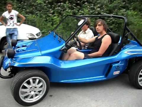 Dune Buggy preparata da RM Racing.it in movimento