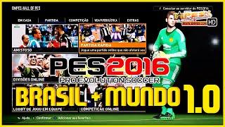 PES 2016 - PATCH BMPES BRASIL + MUNDO 1.0